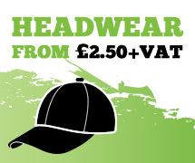 Headwear from £2.50