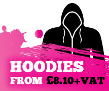 Hoodies from £8.10