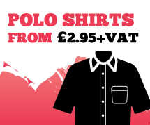 Polo Shirts from £2.95