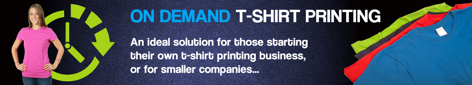 Splashlogo on demand t shirt printing for On demand t shirt printing